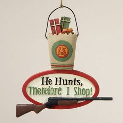 J1140 Hunt/Shop Ornament