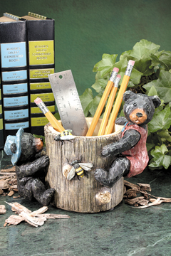 Bear Pen and Pencil Holder 3157